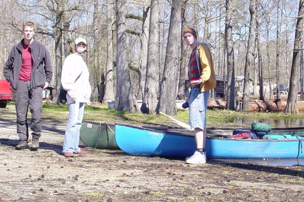 Them canoes
