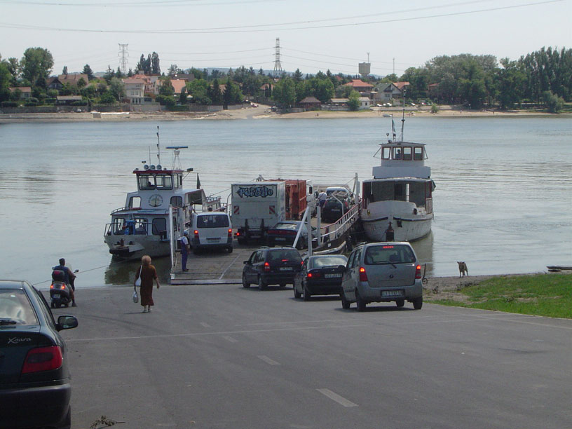 Crossing the Duna