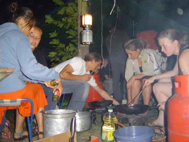 Jinners cooking