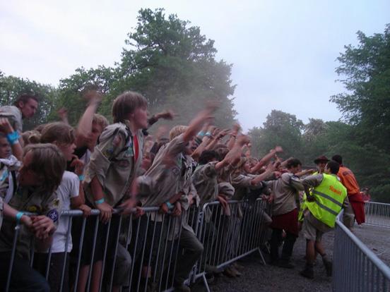 Moerkensheide shouting at Gent Oost