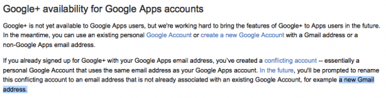 ... a *new* Gmail account.