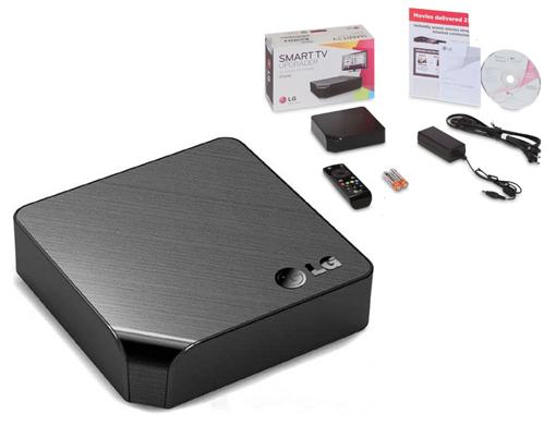 On the LG ST600 Smart TV Upgrader – Bram us