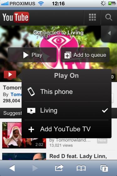 LG Smart TV YouTube App Hidden Gem: Device Pairing – Bram us