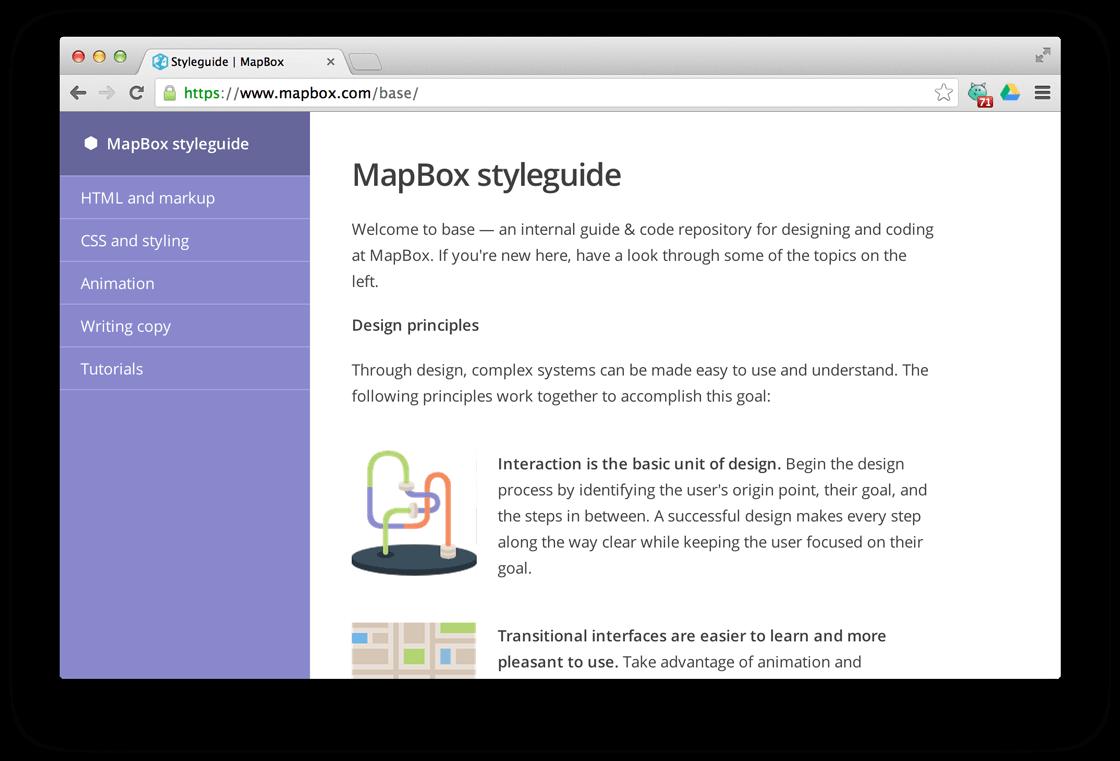 mapbox-styleguide