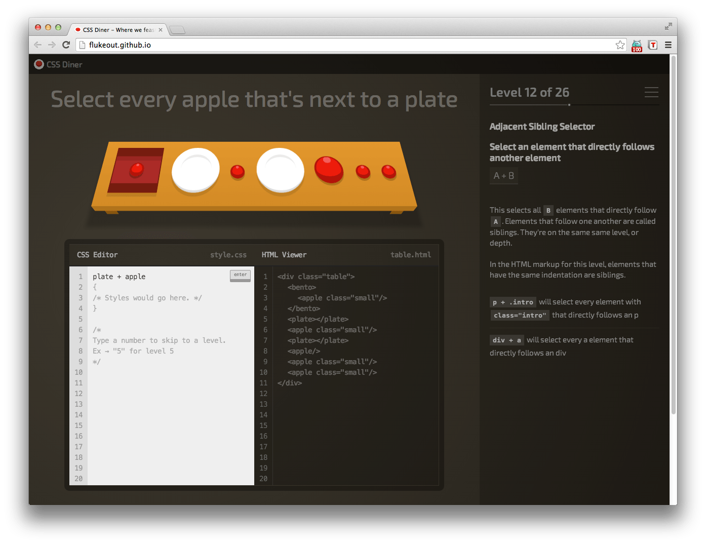 css-diner