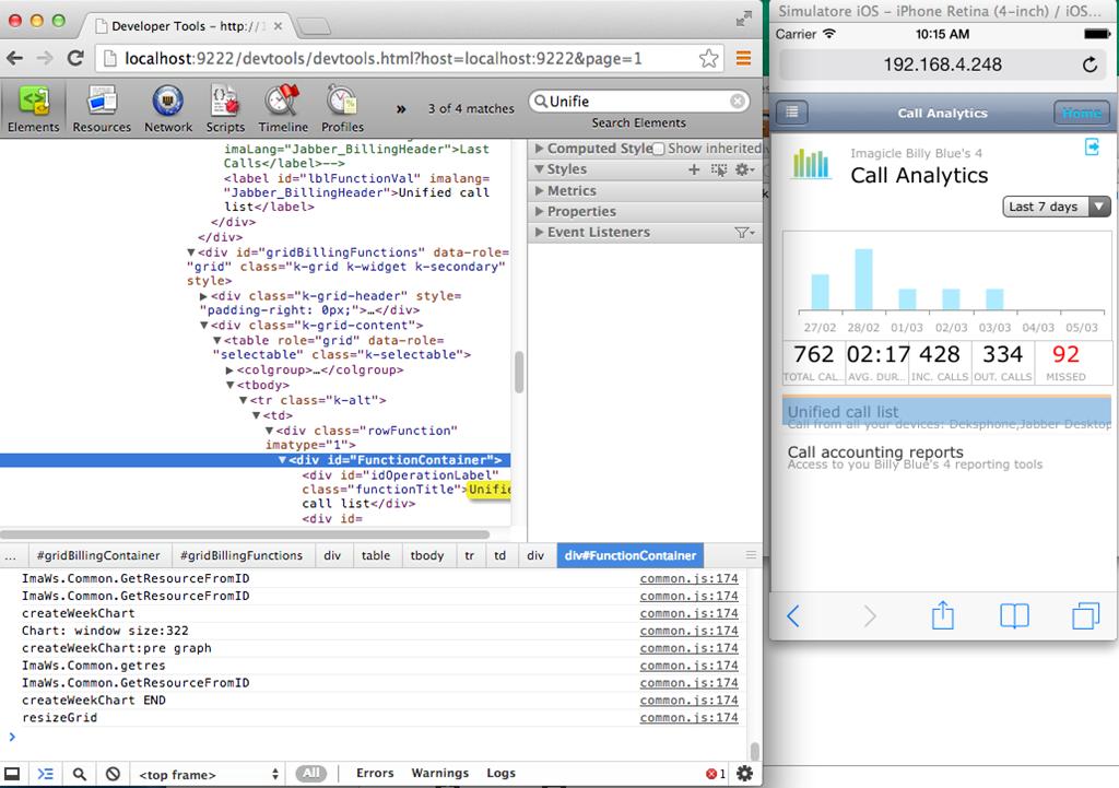 Debugging iOS Safari and UIWebViews using Chrome DevTools