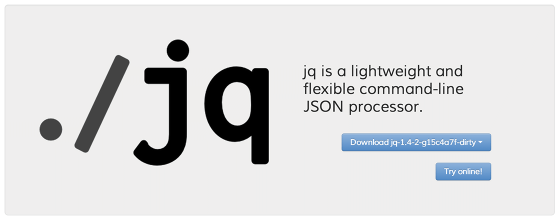 jq – flexible command-line JSON processor  – Bram us