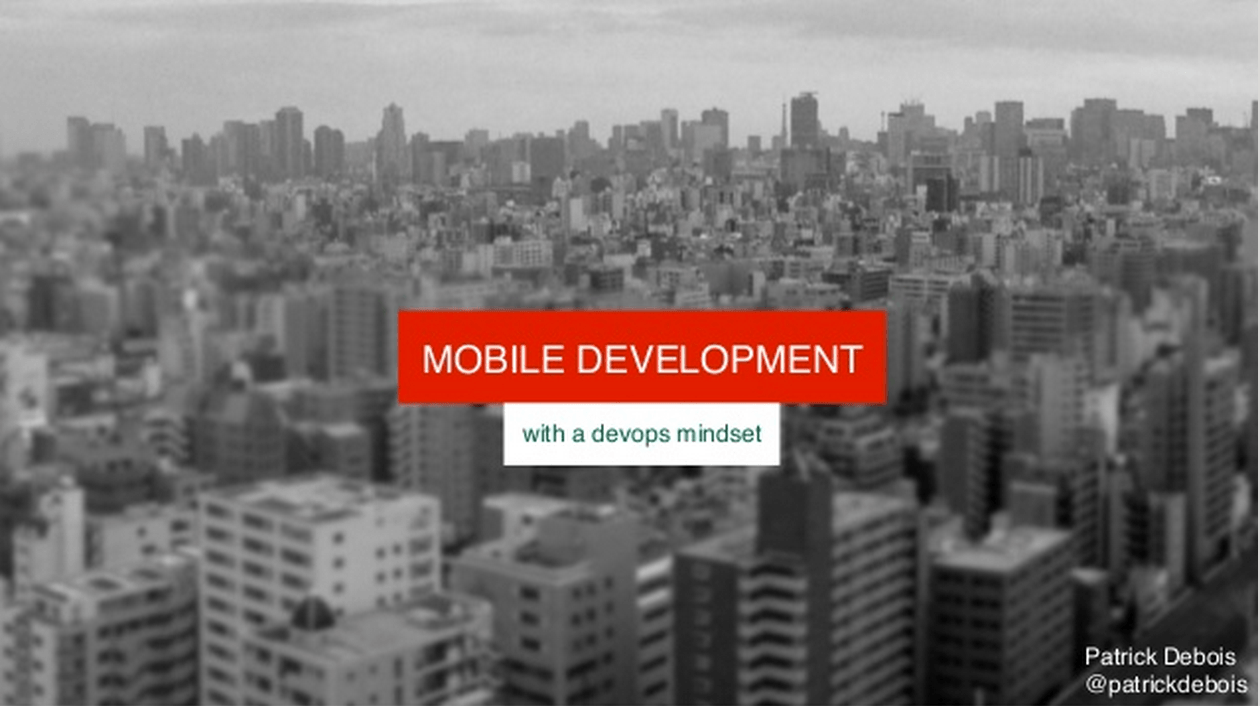mobile-development-with-a-devops-mindset