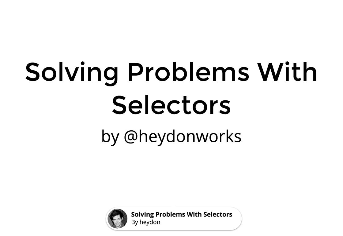 css-selectors-problem-solving