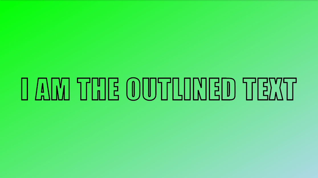 css-outlined-text