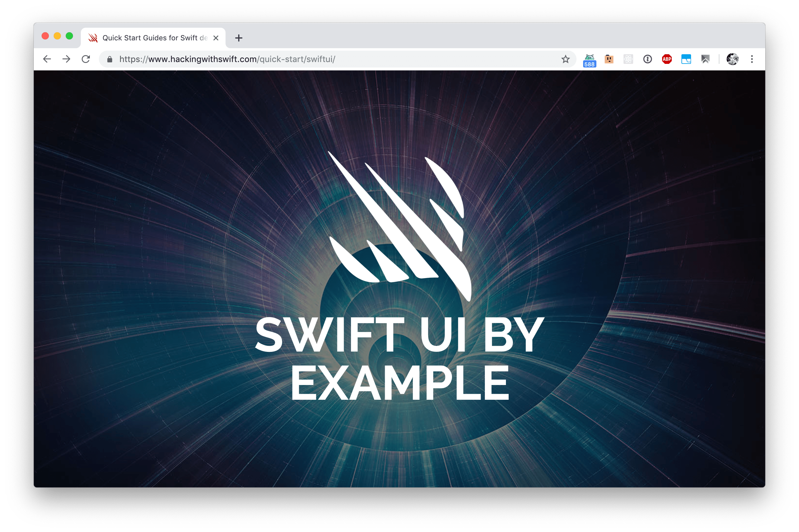 SwiftUI by Example – Free Course on SwiftUI – Bram us