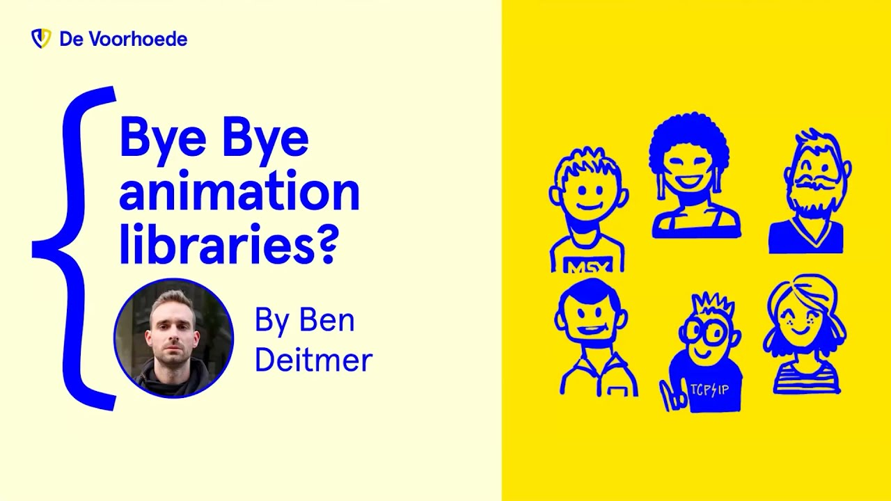 The new native web: Bye bye animation libraries? – Bram.us